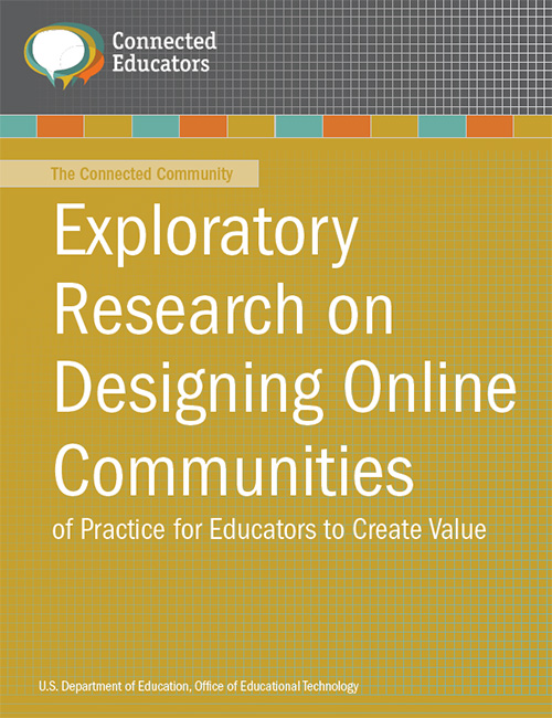 Image of the cover of the Designing Online Communities of Practice publication