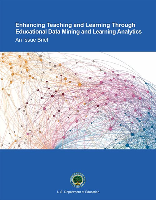 Image of the cover of the Learning Analytics publication.