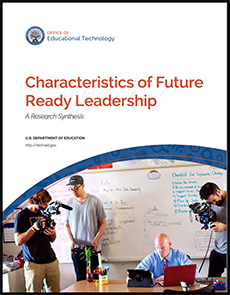 Cover of the Characteristics of Future Ready Leadership: A Research Synthesis