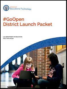 #GoOpen District Launch Packet icon