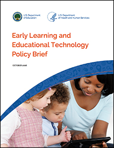 Early Learning and Educational Technology Policy Brief icon