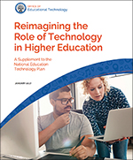 Reimagining the Role of Technology in Higher Education icon