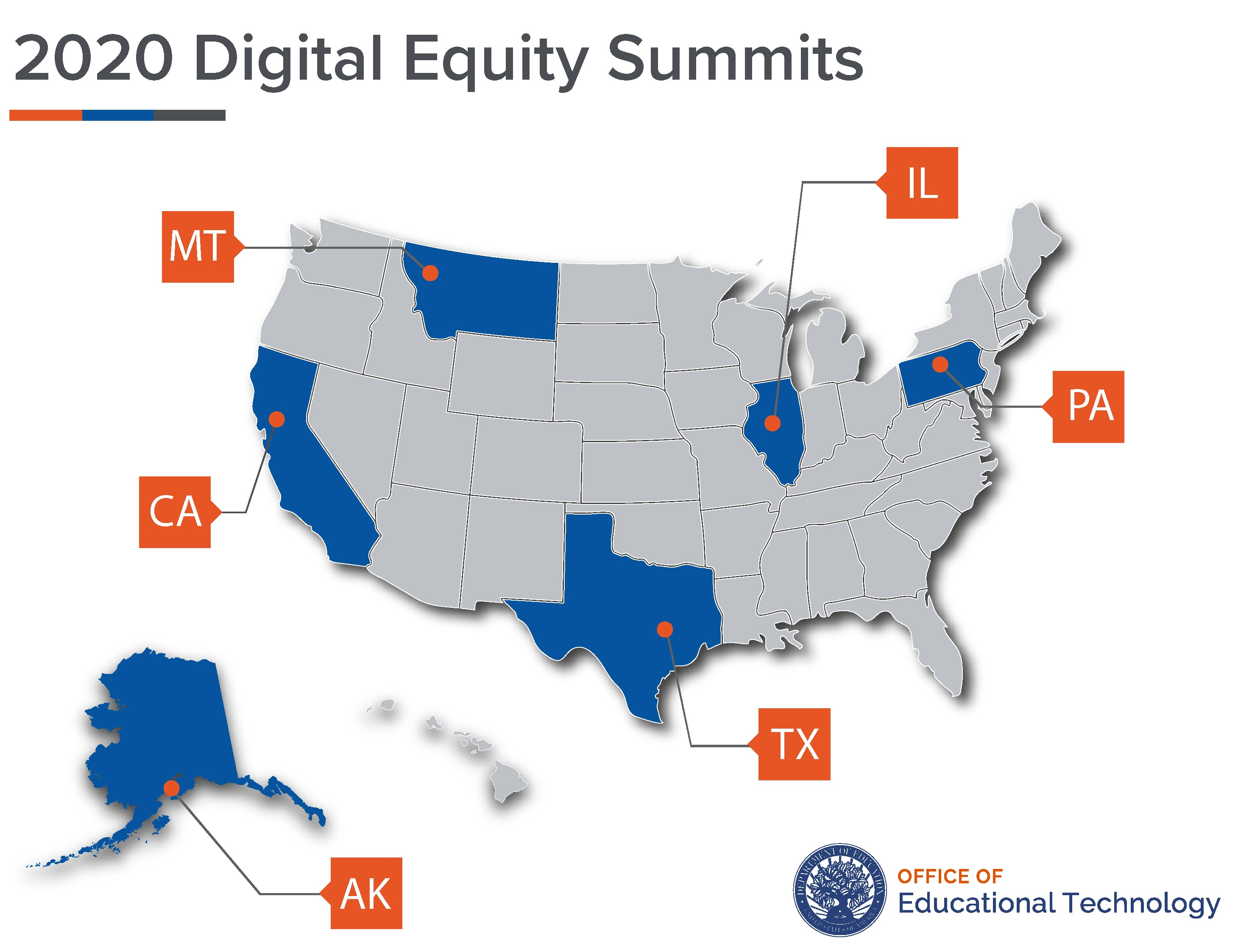 2020 Regional Digital Equity Summits: Partnering to Connect Students