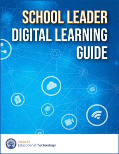 School Leader Digital Learning Guide cover