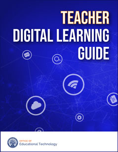 Teacher Digital Learning Guide cover